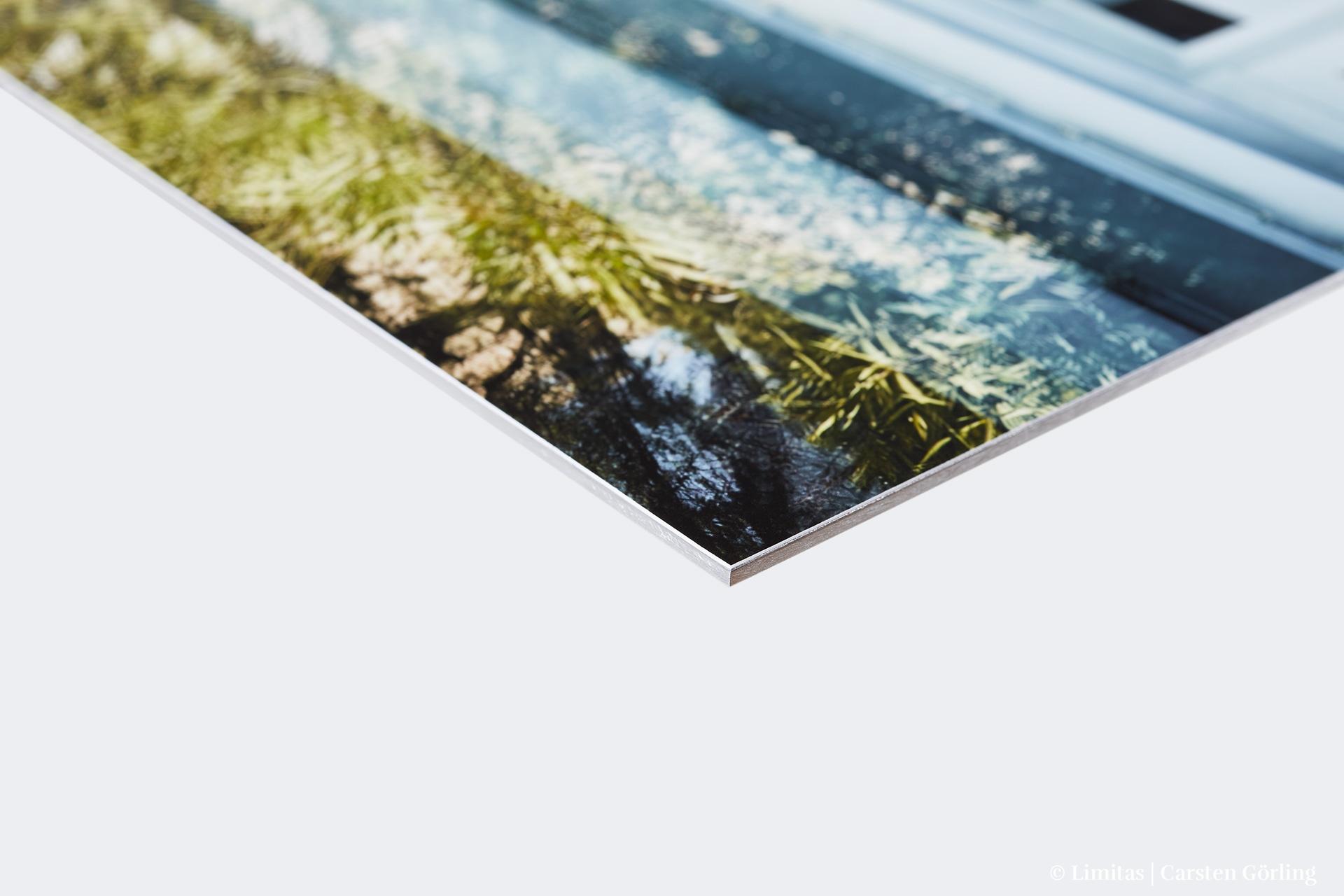 Feinart-Print auf Aluminium